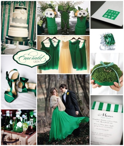 Emerald Green 2013 trend color