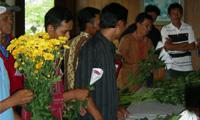 Pelatihan Pasca Panen Bunga Potong